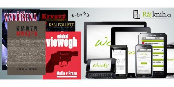 Libovolné e-knihy a e-časopisy z Rajknih.cz v hodnotě 500 Kč