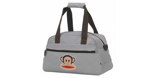 Šedá cestovní taška Paul Frank