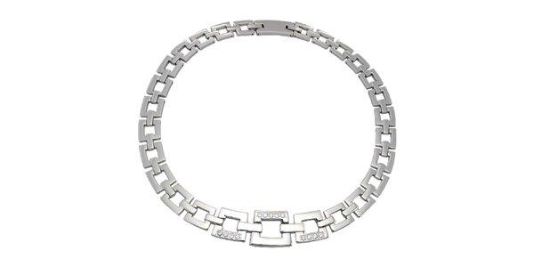 Dámský ocelový náhrdelník Tribal Piercing