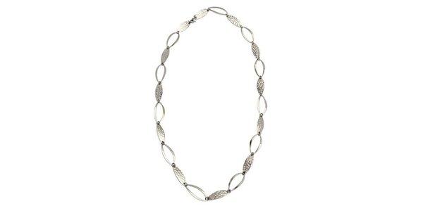 Dámský ocelový náhrdelník Tribal Piercing s oválnými očky