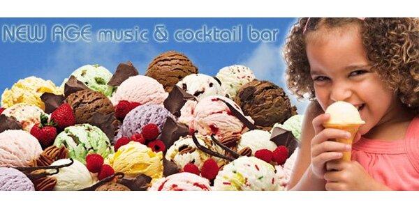 22 Kč za TŘI kopečky poctivé domácí zmrzliny. Na výběr 19 různých příchutí!