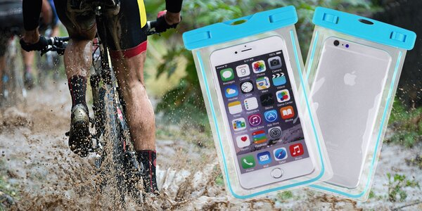 Vodotěsné pouzdro na mobil a drobnosti