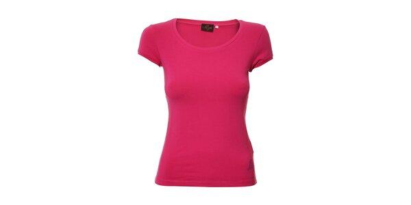 Sportovní tričko Lotto ve fuchsiové barvě