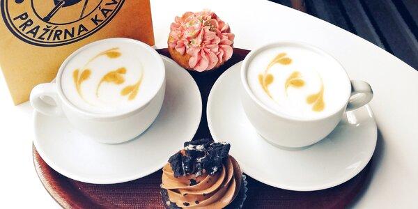 2 nebo 4 kávy podle výběru z lokální pražírny