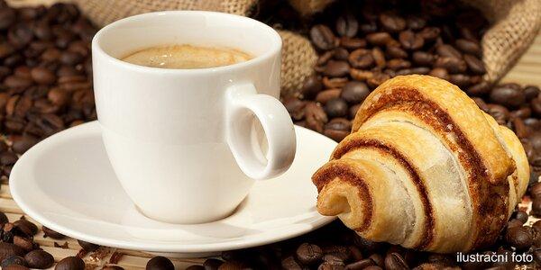 2 voňavé kávy a 6 křupavých fornetek