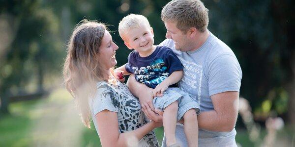 Focení v exteriérupro rodiny, páry i snoubence