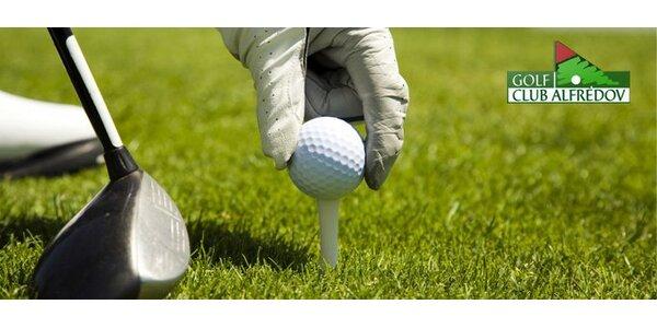 469 Kč za celodenní hru golfu pro jednu nebo dvě osoby.