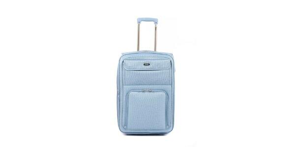 Modrý kufr na kolečkách Artvi