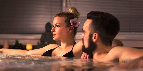 Privátní wellness: vířivka a případně také sauna