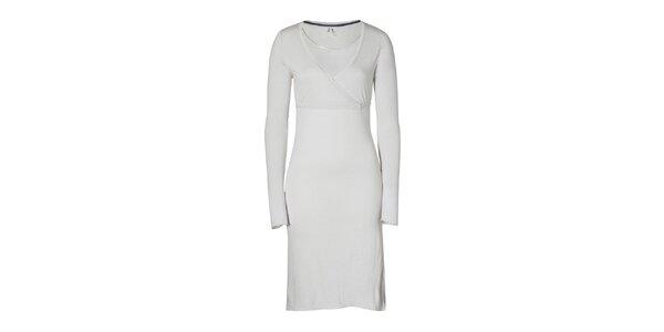 Dámské šedé šaty Enelle