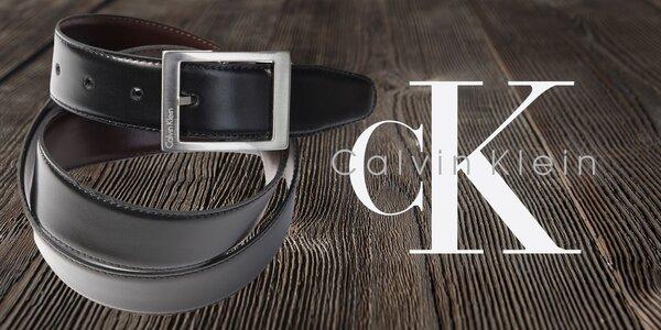 Luxusní pánské kožené opasky Calvin Klein