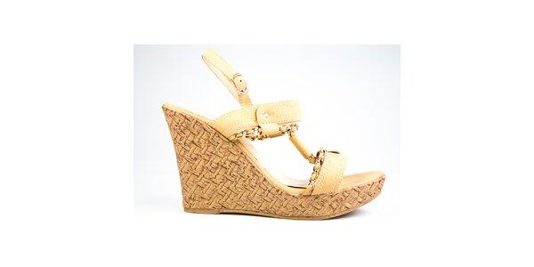 Dámské béžové sandálky Y&K