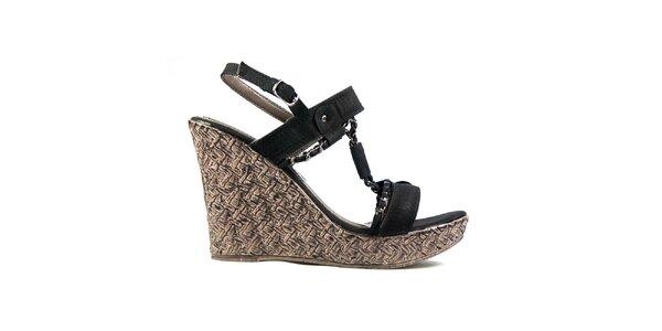 Dámské černé sandálky Y&K