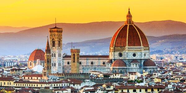Červen v Toskánsku: Florencie, Pisa i Siena