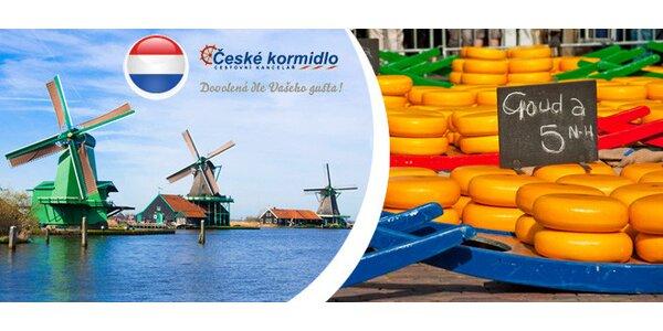 Navštivte Amsterdam a květinovou burzu Aalsmeer