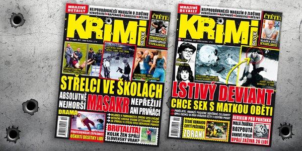 Předplatné časopisu Krimi Revue s bonusem