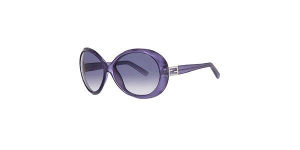 Dámské fialové sluneční brýle Fendi