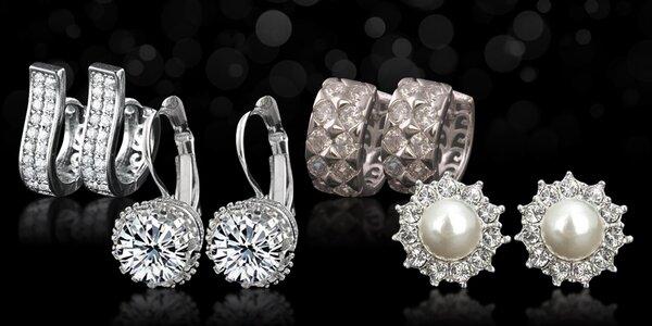 Náušnice z kolekce Zirkonia Luxury Excellent