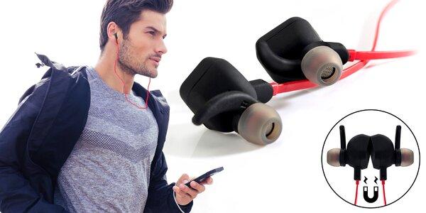 Sportujte bez drátů s bluetooth sluchátky s mikrofonem
