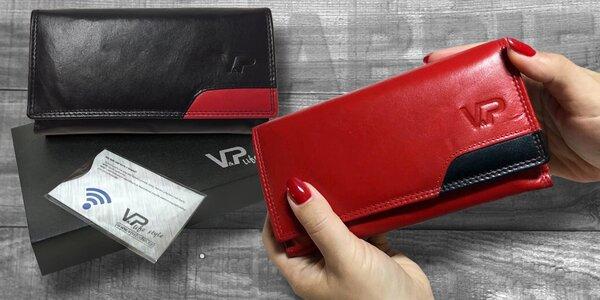 Dámské kožené peněženky a obal na karty ABBIE