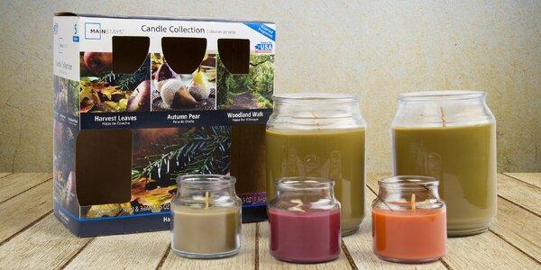 Sady amerických velkých vonných svíček Mainstays