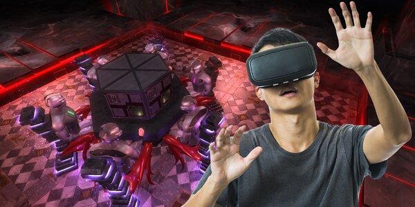Úniková hra ve virtuální realitě pro 2 až 6 os.