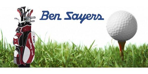 400 Kč za poukaz v hodnotě 4000 Kč na pánský golfový set Ben Sayers!