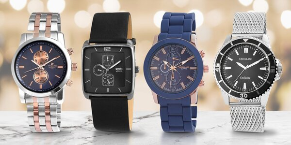 Sportovní i elegantní pánské hodinky