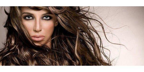 Kompletní péče o vlasy – melír, střih a konečná úprava vlasů