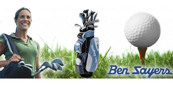 500 Kč za poukaz v hodnotě 5000 Kč na dámský golfový set Ben Sayers!