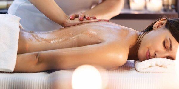 Báječná 60minutová masáž dle výběru