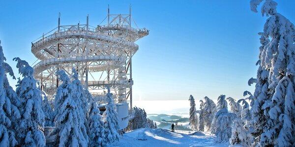 Lednová lyžovačka na Dolní Moravě s polopenzí