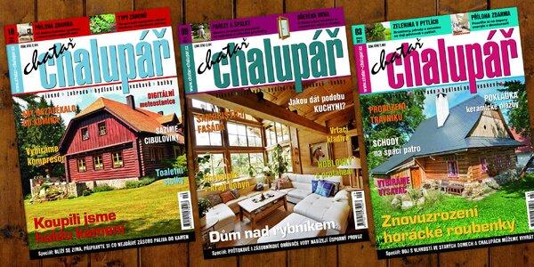 Roční předplatné časopisu Chatař chalupář na rok 2018