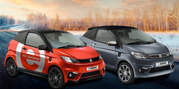 Aixam Electric: půjčte si auto na elektřinu