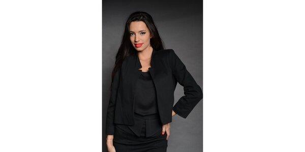 Dámské černé sako Simonette