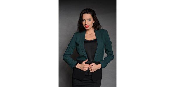 Dámské černo-zelené sako Simonette