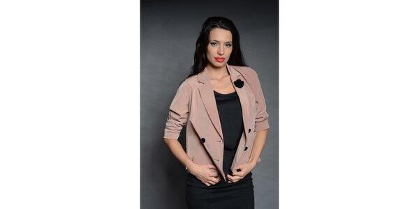 Dámské růžové sako Simonette
