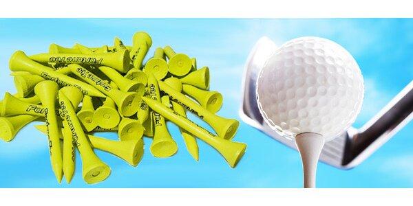 Sada golf tee po 500 nebo 1000 kusech