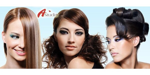 199 Kč za komplexní kadeřnické služby pro ženy v A Studiu Zlín!