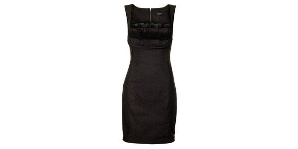 Dámské černé pouzdrové šaty Guess