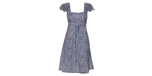 Dámské modrobílé šaty Pietro Filipi