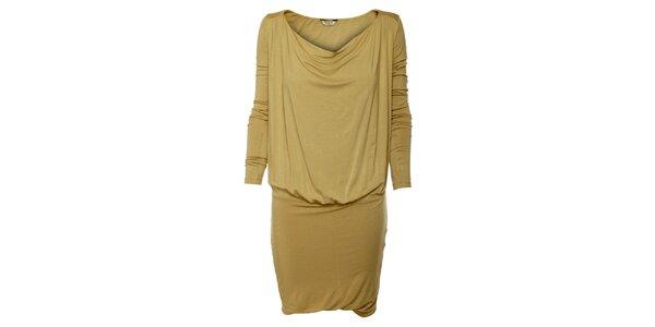 Dámské béžové šaty Guess