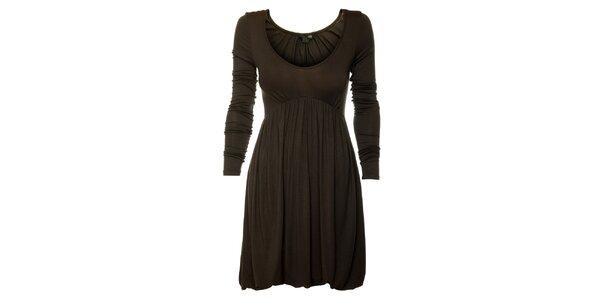 Dámské tmavě šedé šaty Guess