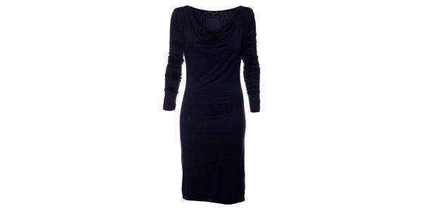Dámské temně modré šaty Guess e0bc2c72c8
