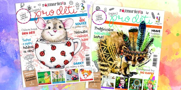 Předplatné časopisu Rozmarýnka pro tvořivé děti