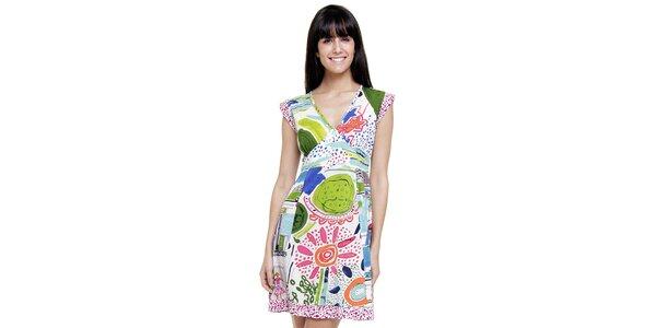 Dámské letní šaty Peace&Love s veselým potiskem