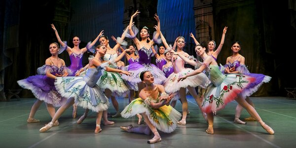 Klasický ruský balet Šípková Růženka v centru Aldis