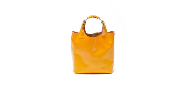 Dámská žlutá kabelka Roberta Minelli