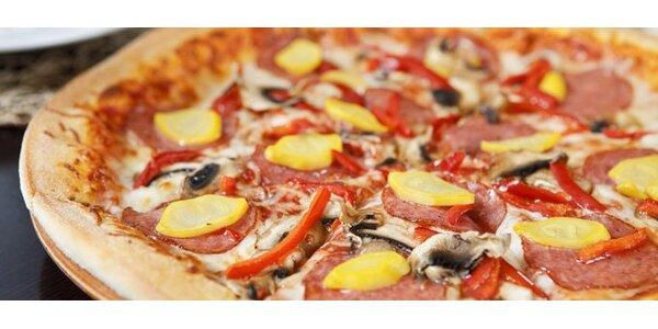 49 Kč za pizzu v restauraci Mars v Mariánských Lázních!