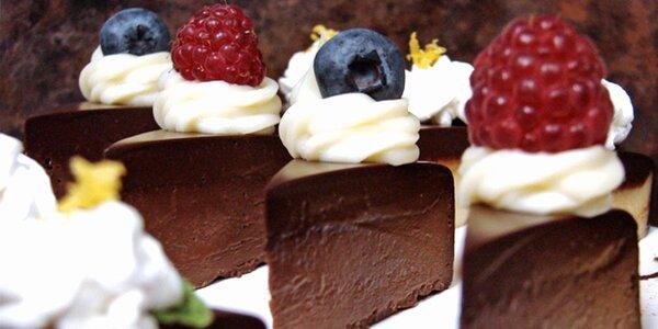 Minidezerty ze špičkové čokolády ve 3 variacích